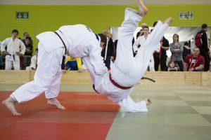 Bild Wurf Judoturnier Altstätten